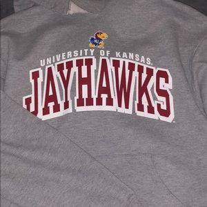Jayhawks sweatshirts